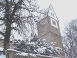 Martinskirche im Winter